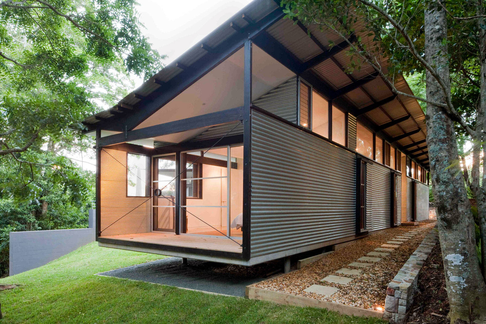 Foxground nettleton architects for Moderne wohncontainer